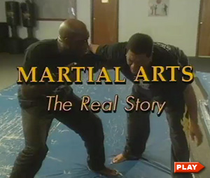 David James in title screen of Martial Arts: The Real Story