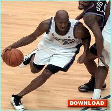 Michael Jordan showing lateral dribble