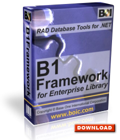 To subscribe and download B1Framework, click here